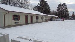 Outside photo of the Moose Lake Motel, Inc.,  Moose Lake MN.