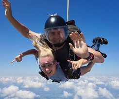 Tandem skydive at Texas Skydiving!