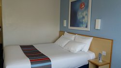 A usual Travelodge, close to the station