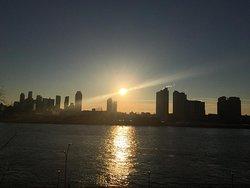 Sunrise view just three blocks away.