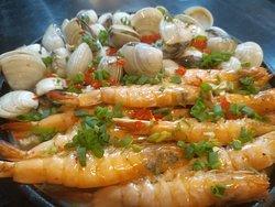 Prawn and clams VietFood 247 Ho Nghinh - Danang