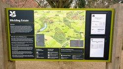Blickling Estate information board