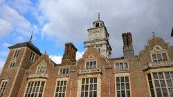 Blickling Hall in December sunshine