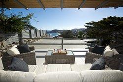 Villa Karali balcony