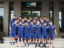 Welcome ...Cyprus Team #internationalfootballteammwm2018 #x2vibeburiramhotel #buriram #thailand