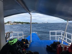Before the first dive of the day