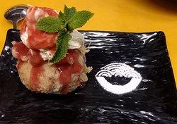 Sushido's tempura fried ice cream