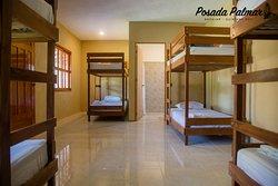 Dormitorio compartido 8 personas