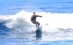 surf lessons in the official surf maspalomas school is nice