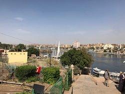 منظر النيل من علي الجزيرة