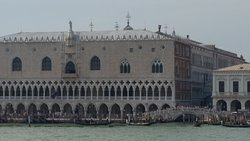 Doge's palace from the water