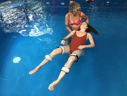 Feeling nurtured during a Aqua-Body-works session.