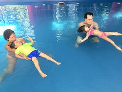 WATSU for Kids and Private Swim classes to overcome fear of water.
