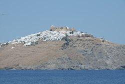 vista verso il castello