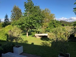 View from the back deck - a great place to sit at the end of the day