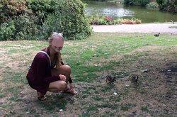 Friendly ducks in Orstedsparken