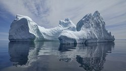 The perfect iceberg on the perfect day (see the accompanying video on YouTube)