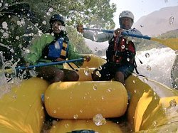 Rafting cañete River