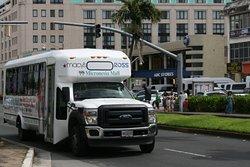 無料のショッピングバス