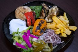 Grilled Vegetables Habibi Style