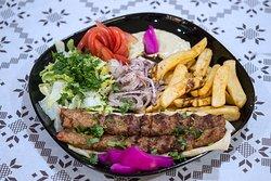 Syrian Minced Kebab - Beef & Lamb - Syrian Pitta