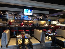 Ruby Tuesday - view inside side door