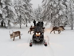 Aurora eMotion - Electric Snowmobile Safaris
