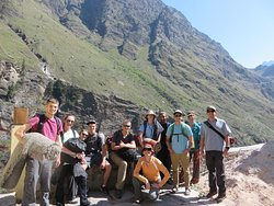 Group from Georgia Southern University at Suraithota after returning from the Nanda Devi National Park trek.