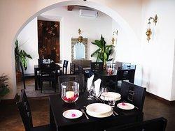 Interior do restaurante Feitor