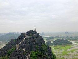View from the Hang Mua Peak