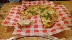 Pizza & garlic bread