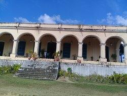 Entrada de la casa hacienda Guáimaro.