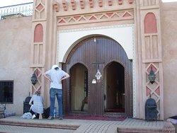Entrance, Auberge La Source