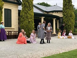 Anne of Green Gables being performed at Collingrove - a perfect setting!!