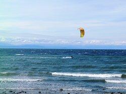Parasailing In Davis Bay