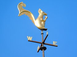 Squirrel weathervane!