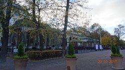 Хельсинки, Kappeli (октябрь 2017 года)...