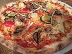 Vegetarian pizza!