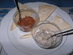 Antipasto & Flat bread