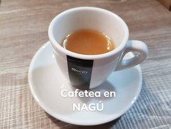 El café de NAGÚ está buenísimo ☕