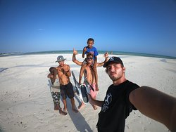 Luwa Beach - JC Kite House School. Troverete la nostra scuola in questo paradiso chiamato Watamu!!!