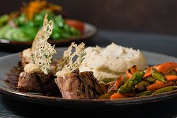 Grilled Pork Tenderloin available at Bear Springs Bistro & Lounge.