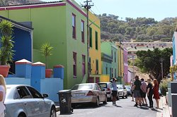 Up the hill into the Bo Kaap