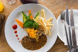 Mouthwatering dish at Elephant Skybar