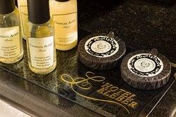 Des produits d'accueil à disposition pendant votre séjour