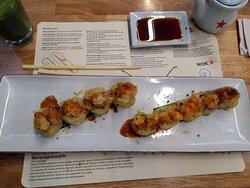 Sushi BombaSticky toffee puding