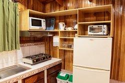 Cocina cabañas Junior Suite - Kitchen of our Junior Suite cabañas