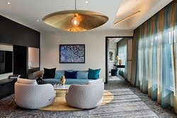 SO Lofty suite dining and lounge area