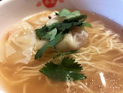 日式・えびわんたん麺ハーフ