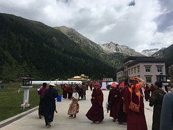 A Buddhist teaching day